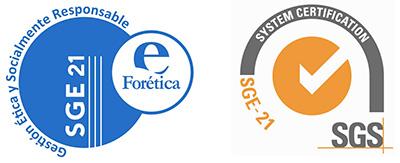 Certificación FORETICA-SGE